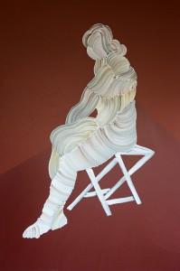 Hommes femmes, mode d emploi - 100 x 150 acrylique sur toile